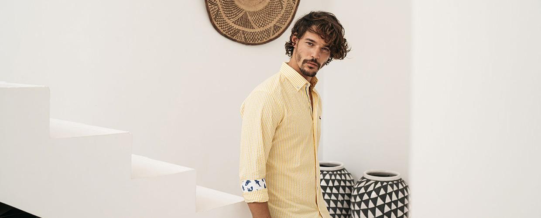 camisas para hombre estampadas